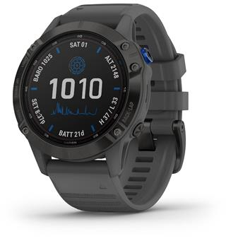 Garmin Fenix 6 Pro Solar Black/w Slate Gray Band