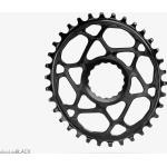 absoluteBLACK Chainring Oval anodized black 36T