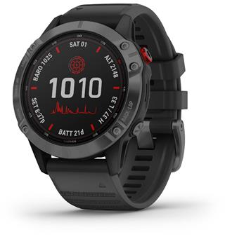 Garmin Fenix 6 Pro Solar Slate Gray w/Black Band