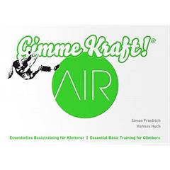 Gimme Kraft AIR Essential Basic Training for Climbers
